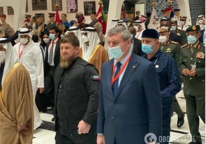 Рамзан Кадиров і Олег Уруський