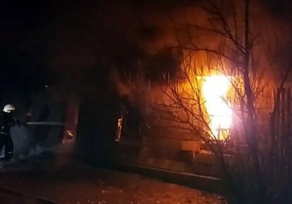 Пожежа сталася в селі В'язівок