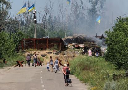 Командование оценило разведение сил у Станицы Луганской как улучшение позиций ВСУ. Фото: Getty Images