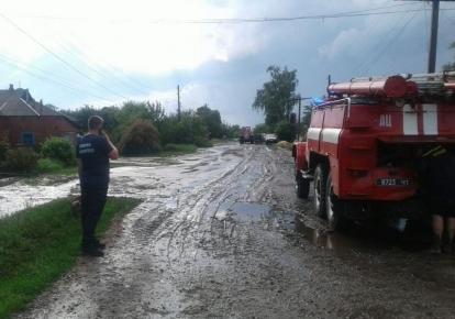 В поселке Двухлетняя подтопило ряд домов