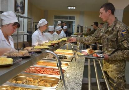 Нынешняя власть провалила реформу армейского питания/mil.gov.ua