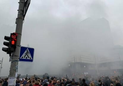 Акція протесту біля КСУ