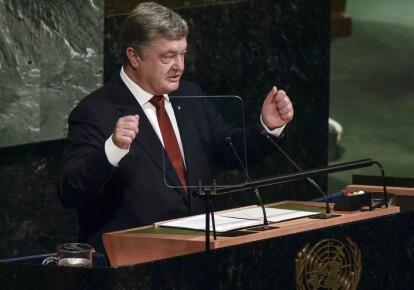 Порошенко в ООН поднимет тему миротворцев на Донбассе. Фото: УНИАН