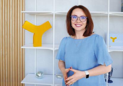 """Керівник маркетингових комунікацій і зв""""язків з громадськістю YASNO Лілія Середа"""