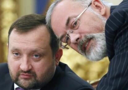 Сергій Арбузов і Дмитро Табачник