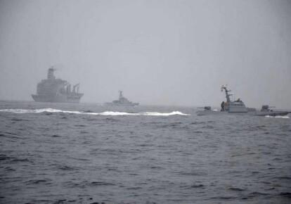 Совместные тренировки типа PASSEX в акватории Черного моря