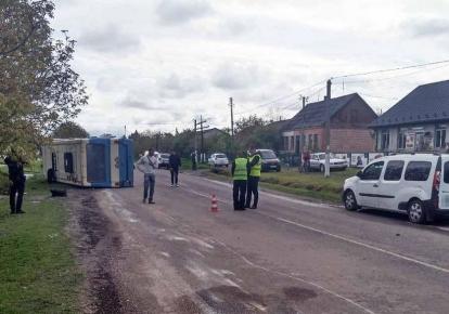 Авария произошла в селе Мирогоща