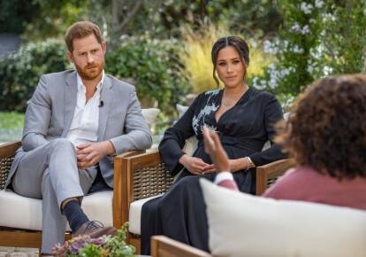 Опра Уїнфрі бере інтерв'ю у принца Гаррі і Меган Маркл