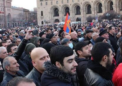 Протести у Вірменії