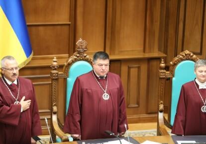 Олександр Тупицький у залі Конституційного суду