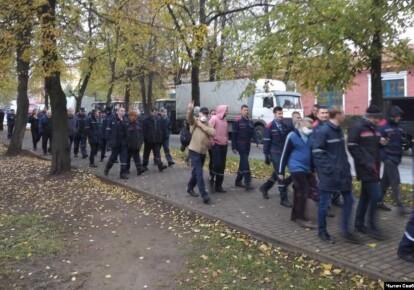 Забастовка в Беларуси/Радыё Свабода