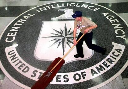 Логотип в штабквартире ЦРУ
