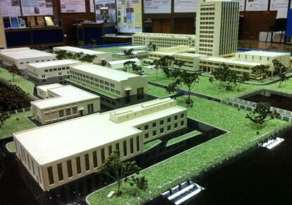 Макет инновационного парка «Академ.Сити»