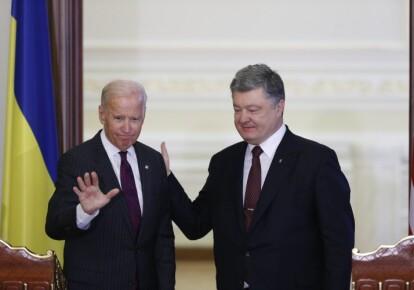 Джо Байден і Петро Порошенко