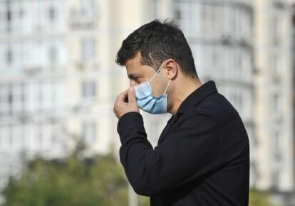Володимир Зеленський отримав позитивний тест на коронавірусну інфекцію
