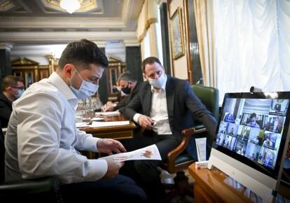 Селекторна нарада у президента України