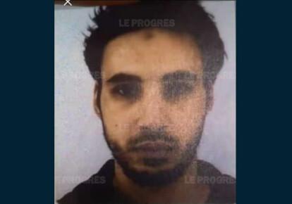 Пользователь Тwitter опубликовал фото нападающего, который совершил стрельбу в Страсбурге. Фото: leprogres.fr