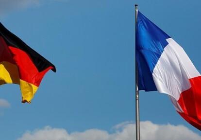 Прапори Німеччини і Франції