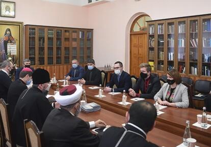 Заседание Совета церквей