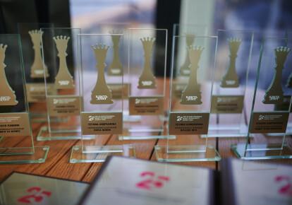 Награды рейтинга ТОП-25 бизнес-леди Украины