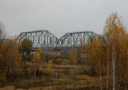 Міст на ділянці Гомель-Чернігів-Київ