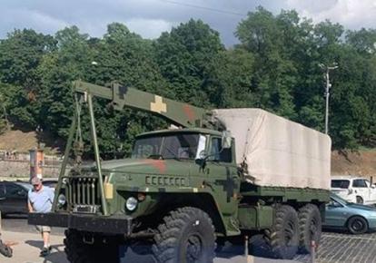 Военный грузовик/УНН