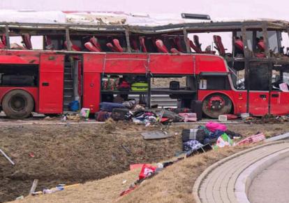 В результате аварии погибли шесть человек