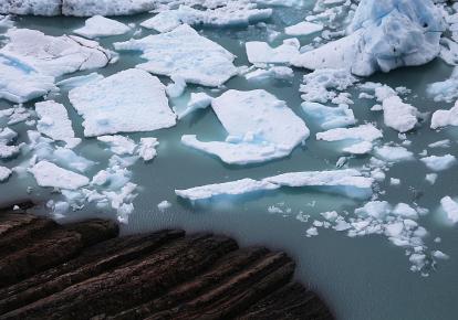Массивные ледники Патагонии таят вследствие одного из многих климатических воздействий, которые, по прогнозам моделей, быстро усугубятся