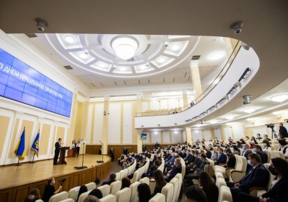 Володимир Зеленський під час зустрічі з працівниками прокуратури
