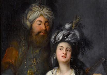 «Роксолана і султан», картина Антона Хікеля, 1780 р./Landesmuseum Mainz/Wikipedia