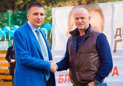 Еще недавно кандидат в мэры Одессы Дмитрий Голубов был дружен с мэром Геннадием Трухановым / regionews.ua