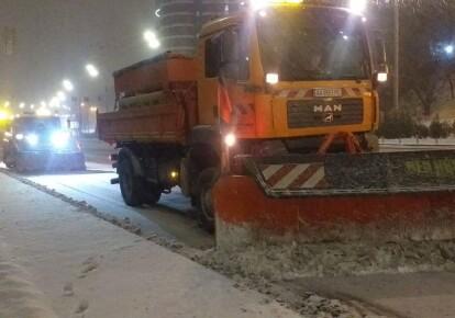 С начала действия циклона больше всего снега выпало во Львовской области