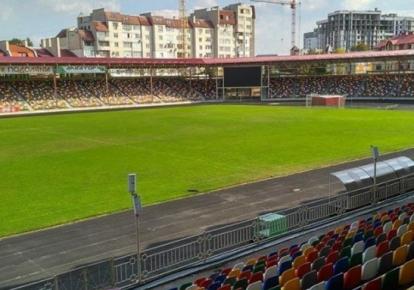 Стадион имени Романа Шухевича в Тернополе