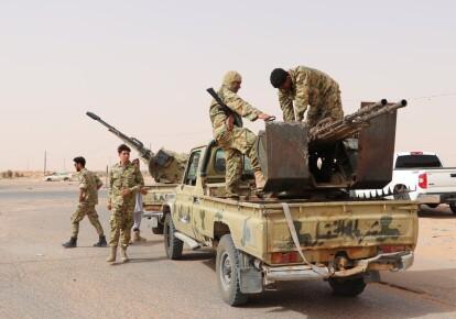 Солдаты Ливийской Национальной армии маршала Халифы Хафтара / dailysabah.com