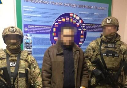 Мужчину задержали после прибытия на подконтрольную украинской власти территорию
