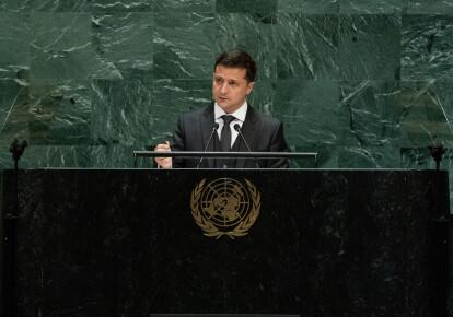 Володимир Зеленський 25 вересня виступив у ході загальних дебатів Генеральної асамблеї ООН