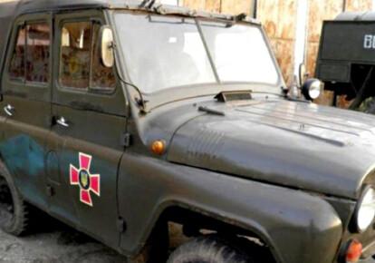 Військовий автомобіль УАЗ