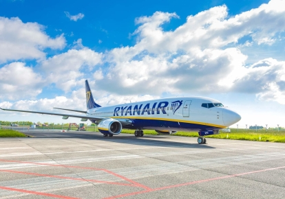 Борт Ryanair / Фото: ryanair.com