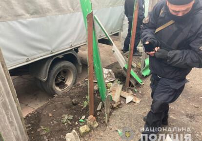 Взрыв гранаты в Харькове