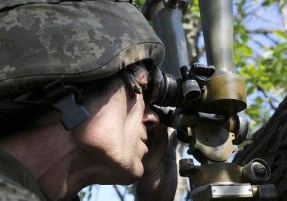 Российско-оккупационные войска в зоне ООС осуществили три обстрела на донецком направлении / УНИАН