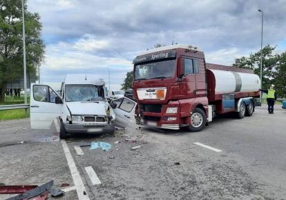 Авария произошла на трассе Киев-Одесса