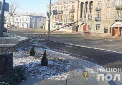Пошкоджений пам'ятник