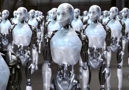"""Кадр из к/ф """"Я робот"""""""