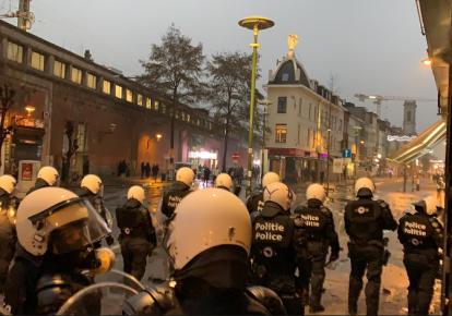 Заворушення у Брюсселі