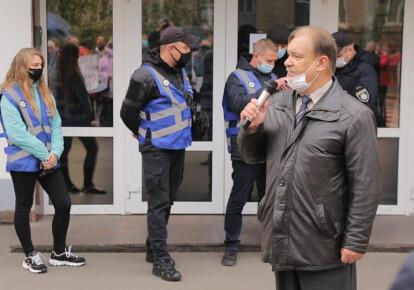 """Евангельская Церковь """"Христианская Надежда"""" и социальный центр """"Варнава"""" протестуют против рейдерства"""