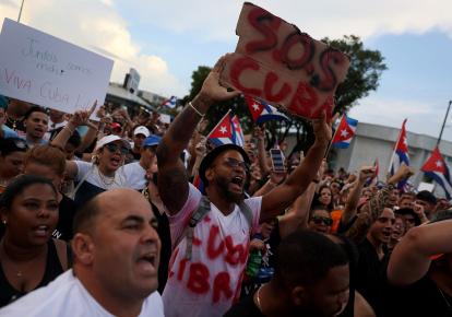 Протести на Кубі