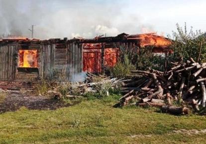 В Черниговской области сгорел дом