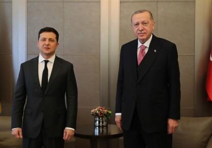 Президенти України та Турції