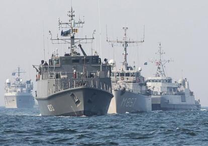 Корабли НАТО. Фото: dw.com