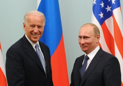 Джо Байден і Володимир Путін